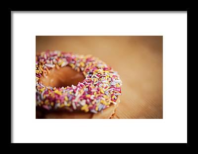 Doughnut Framed Prints