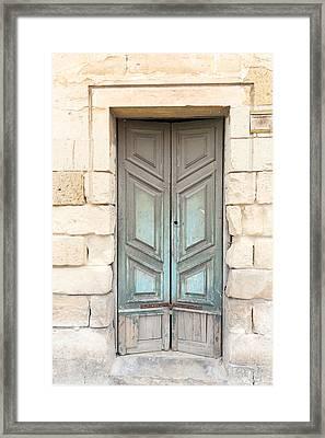 Doors Of The World 87 Framed Print