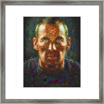 Doping ?  Who Cares ?  Can You Tell If Framed Print