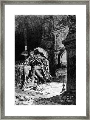 Dor�: The Raven, 1882 Framed Print by Granger