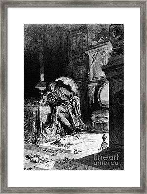 Dor�: The Raven, 1882 Framed Print