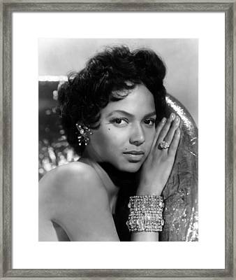 Dorothy Dandridge, Circa 1959 Framed Print by Everett