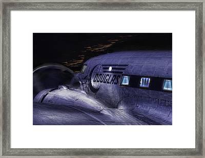 Douglas Dc-3 Framed Print