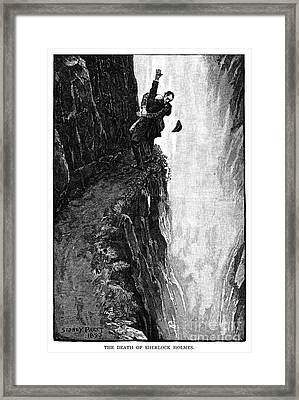 Doyle: Sherlock Holmes Framed Print