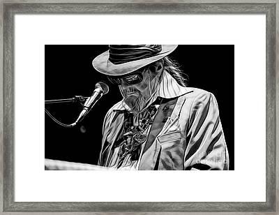 Dr. John Collection Framed Print by Marvin Blaine
