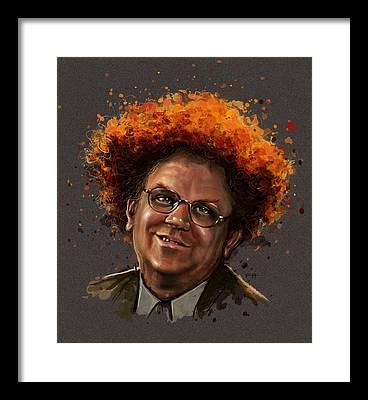 Mr. Cellophane Framed Prints