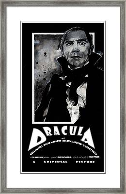Dracula Movie Poster 1931 Framed Print