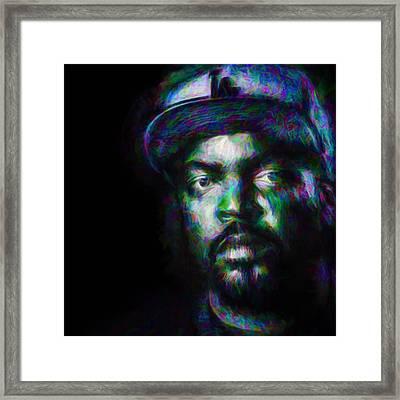 @drdre @eminem @icecube #drdre #eminem Framed Print