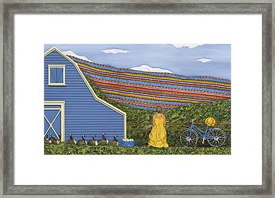 Framed Print featuring the sculpture Dream Cycle by Anne Klar