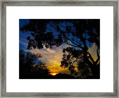 Dream Sunrise Framed Print