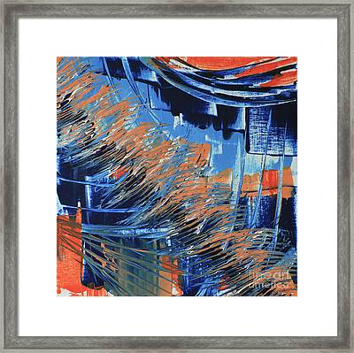 Framed Print featuring the painting Dreaming Sunshine  by Cathy Beharriell