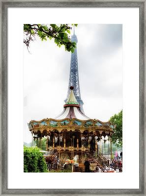 Dreams Of Paris Framed Print