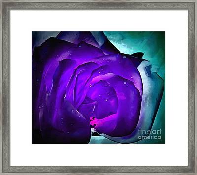 Drift Away Framed Print by Krissy Katsimbras