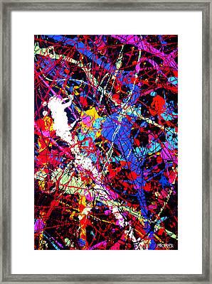 Dripx 12 Framed Print