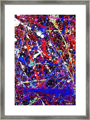 Dripx 13 Framed Print