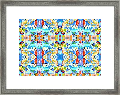 Drugs In Sport Framed Print by Ky Wilms