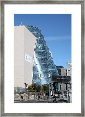 Dublin Convention Centre Framed Print by Ros Drinkwater