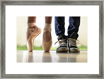 Duet Framed Print by Laura Fasulo