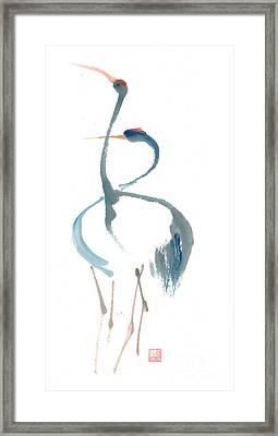 Duet Framed Print by Mui-Joo Wee