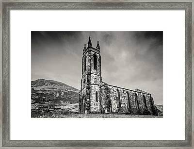 Dunlewey Church Of Ireland  Framed Print