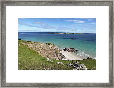 Framed Print featuring the photograph Durness - Scotland by Pat Speirs