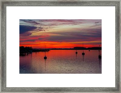 Dusk Framed Print by RC Pics