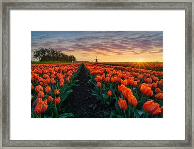 Dutch Classic Framed Print by Martin Podt