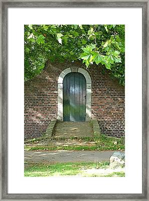 Dutch Door Digital Framed Print