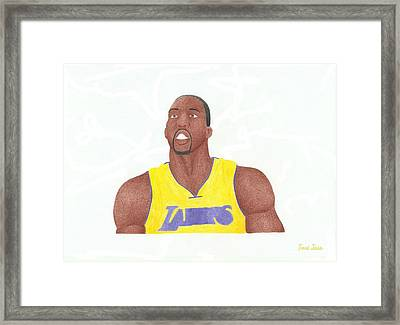 Dwight Howard Framed Print