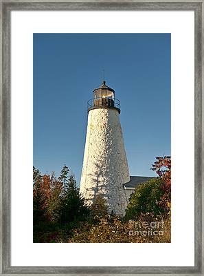 Dyce Head Lighthouse Framed Print by John Greim