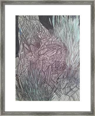 Dying Tree 4 Framed Print