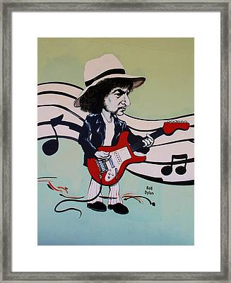 Dylan Framed Print by Rob Hans