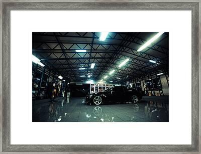 E92 Framed Print