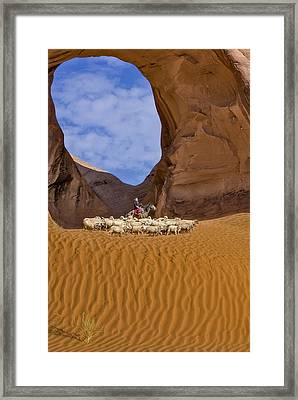 Ear Of The Wind Framed Print by Susan Candelario