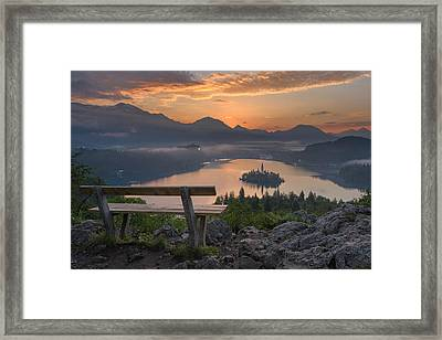 Early Morning Framed Print by Robert Krajnc