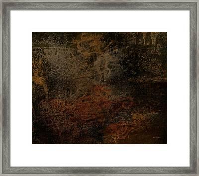 Earth Texture 2 Framed Print