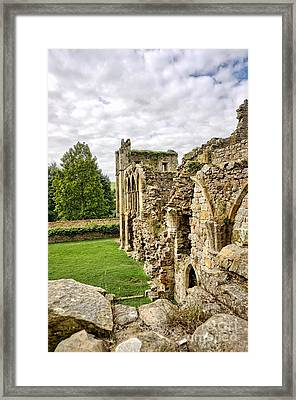 Easby Abbey Framed Print
