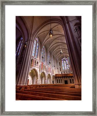 East Liberty Presbyterian  Framed Print by Steve Konya II