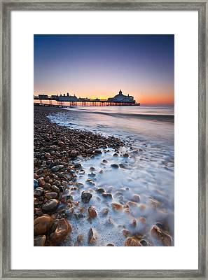 Eastbourne Sunrise Framed Print