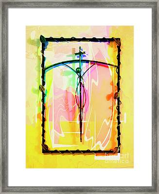 Framed Print featuring the photograph Easter Remembrance by Al Bourassa
