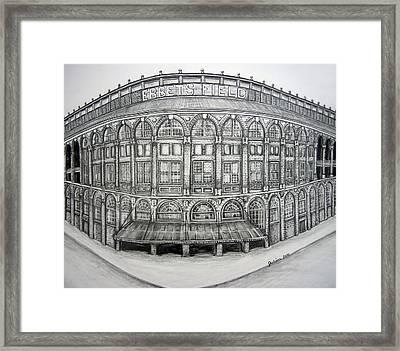Ebbets Field Framed Print by Juliana Dube