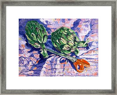Edible Flowers Framed Print