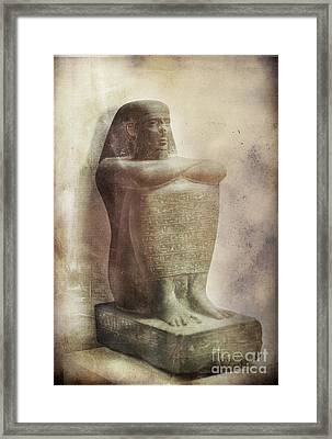 Egyptian Pharaoh. Framed Print