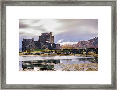 Eilean Donan Castle, Dornie, Kyle Of Lochalsh, Isle Of Skye, Scotland, Uk Framed Print