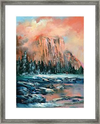 El Capitan Framed Print by Sally Seago