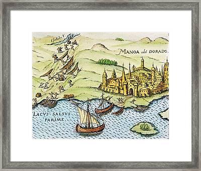 El Dorado, 1599 Framed Print
