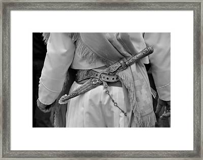 El Gaucho  Framed Print by Hans Wolfgang Muller Leg