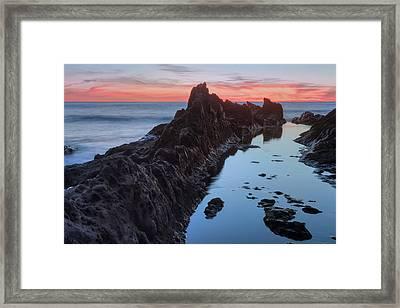 El Golfo - Lanzarote Framed Print by Joana Kruse
