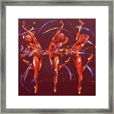 Elation Framed Print by Penny Warden