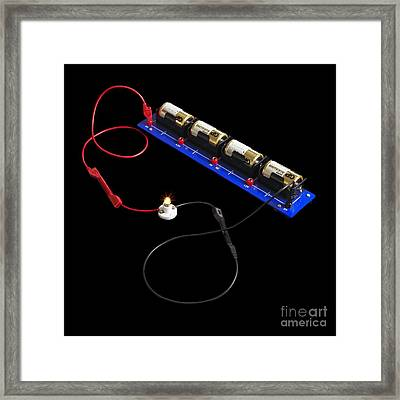 Electrical Circuit Framed Print